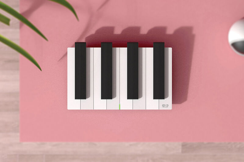 Playful Piano-Inspired Routers
