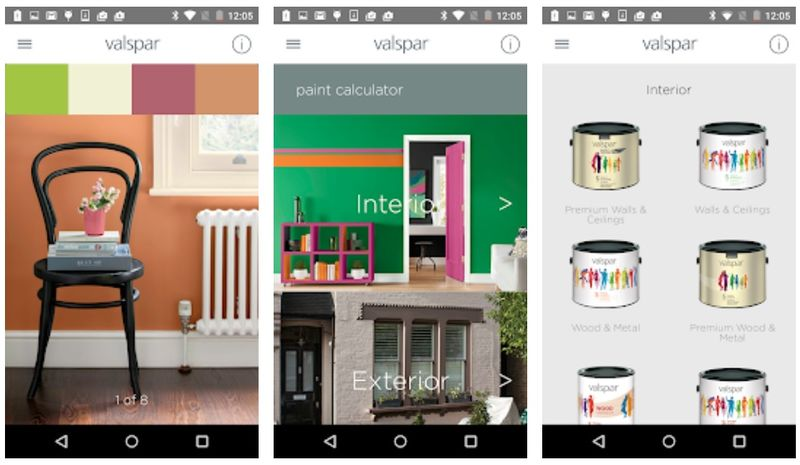 Intuitive Paint Selection Apps