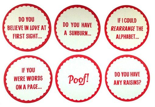 Suave Valentine S Day Coasters Pick Up Line Coasters