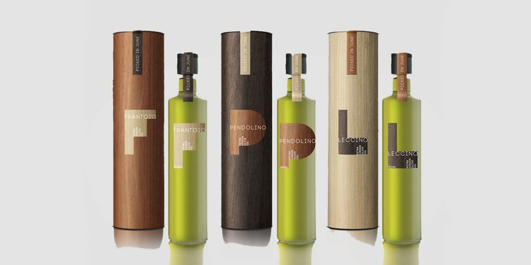 Earthy Oil Packaging