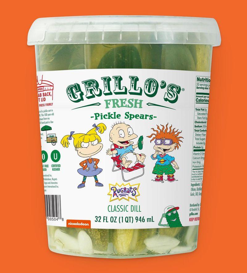 Nostalgic Pickle Snacks
