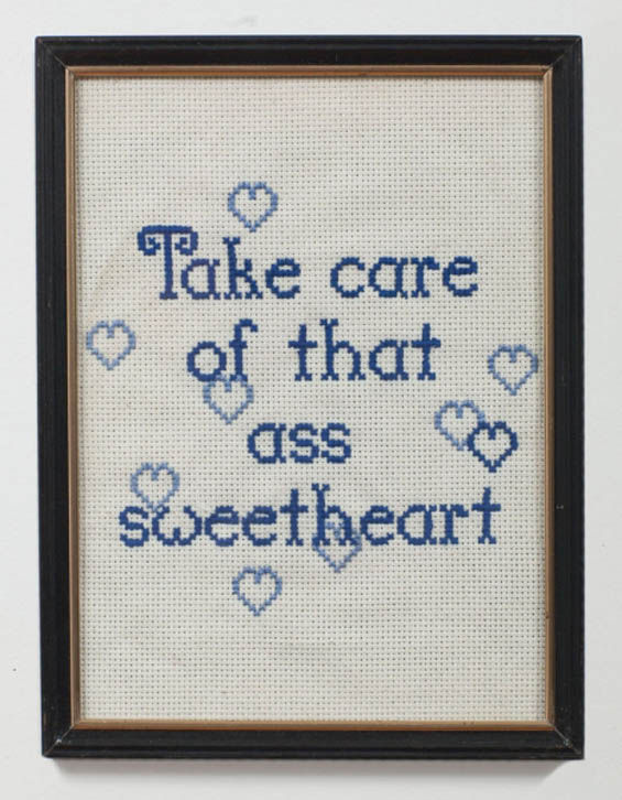 Embroidered Pickup Lines