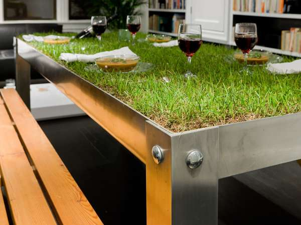 Vegetated Dining Counters