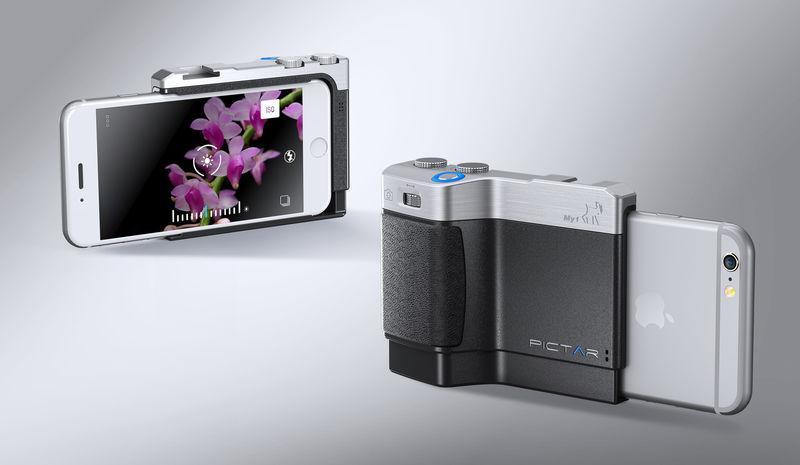 Ergonomic Smartphone Camera Grips