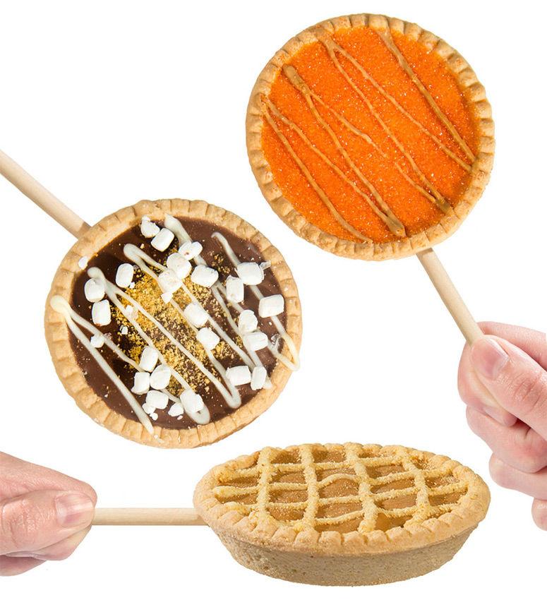 Baked Dessert Lollipops
