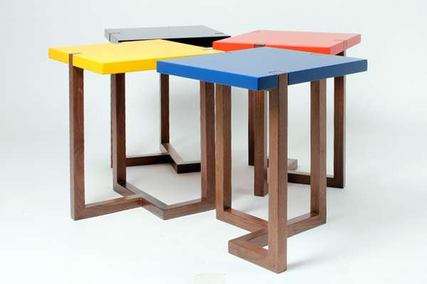 Simple Asymmetrical Furniture