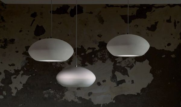 Stone-Like Suspended Lights