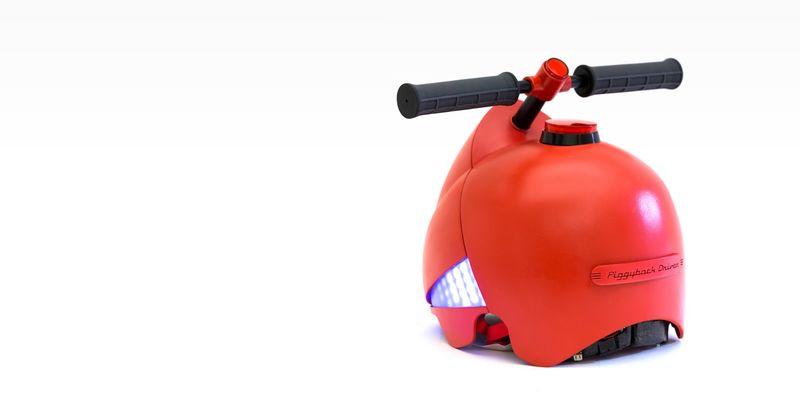 Piggyback-Guiding Helmets