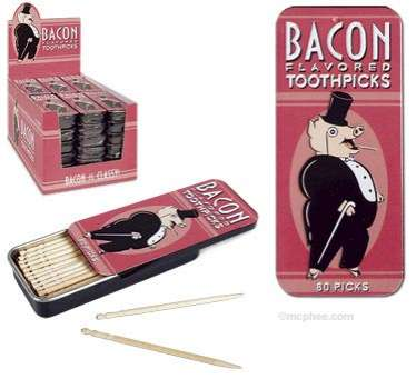 Bacon-Flavored Toothpicks