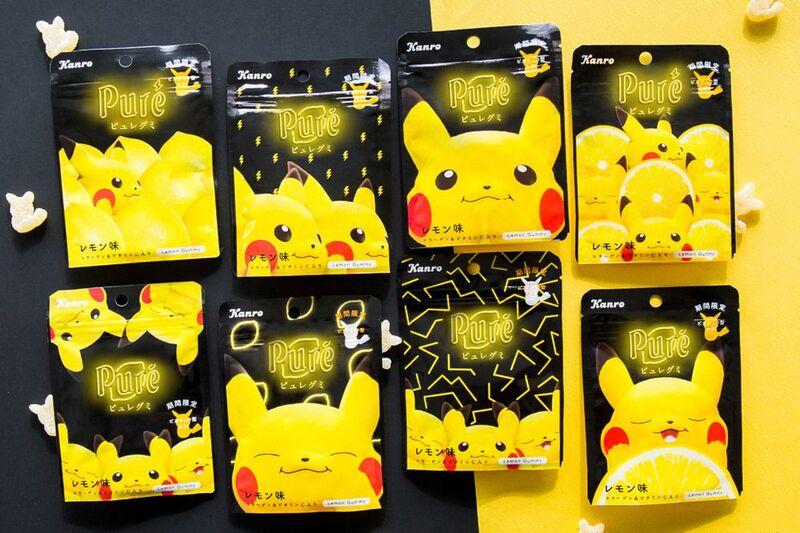 Anime Chracter Lemon Gummies