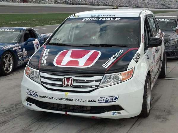 Race-Ready Minivans