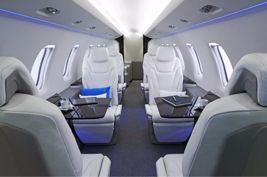 Groundbreaking Business Jets