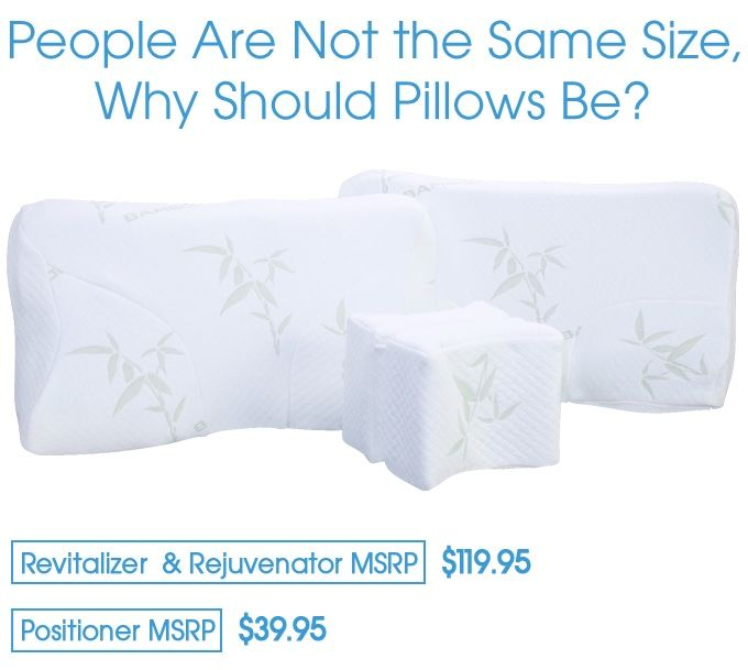 Adjustable Ergonomic Pillows