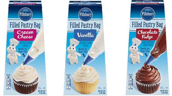 Pre Filled Icing Bags Pillsbury Filled Pastry Bag