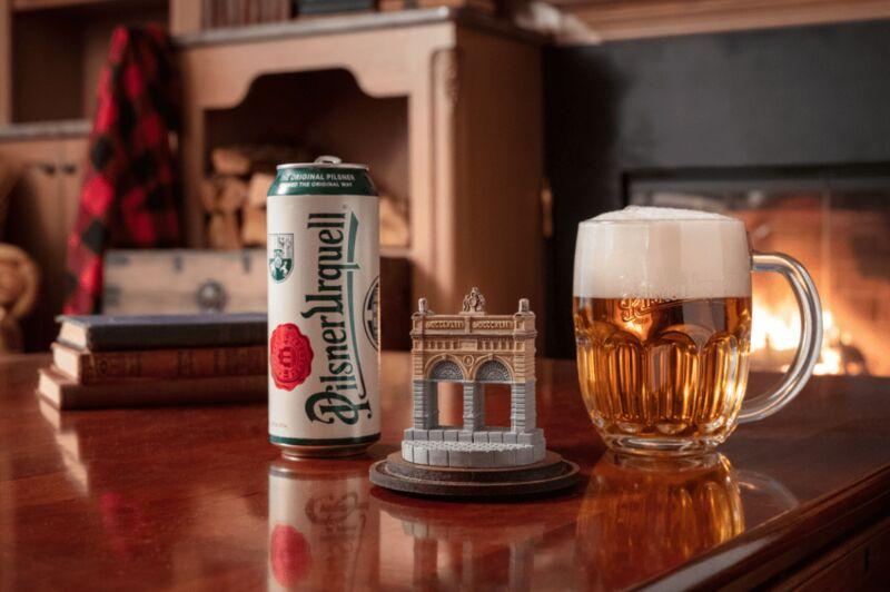 Sculpture-Like Beer Glasses