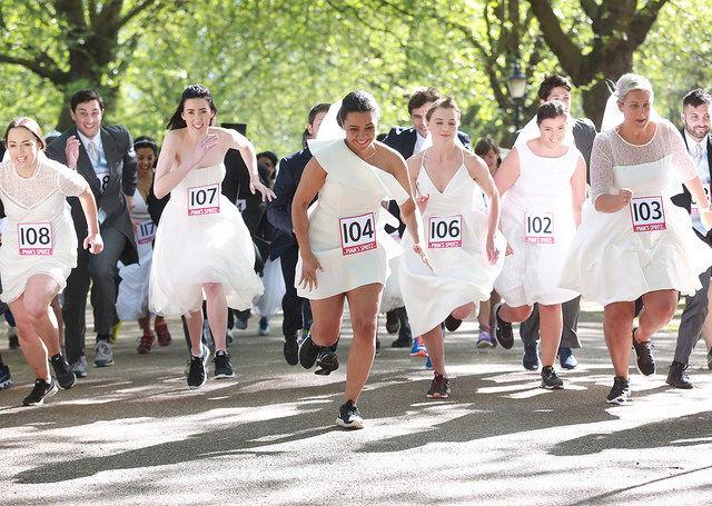 Wedding-Themed Races