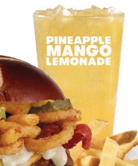 Summery Mango Lemonades