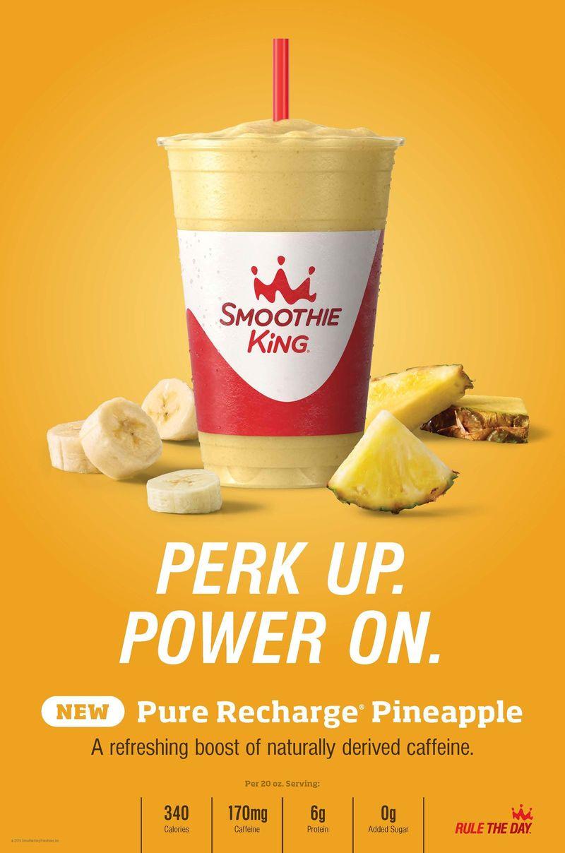 Energizing Pineapple Smoothies