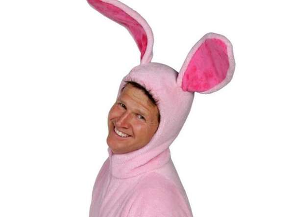 Christmas Story Bunny Pajamas.Christmas Story Onesies The Pink Bunny Pajamas Will Not