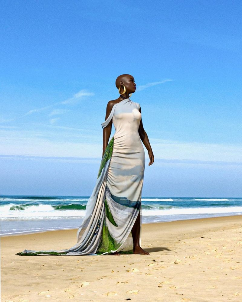 Virtually Modeled Fashion Collections