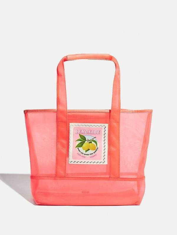 Charming Market-Themed Totes