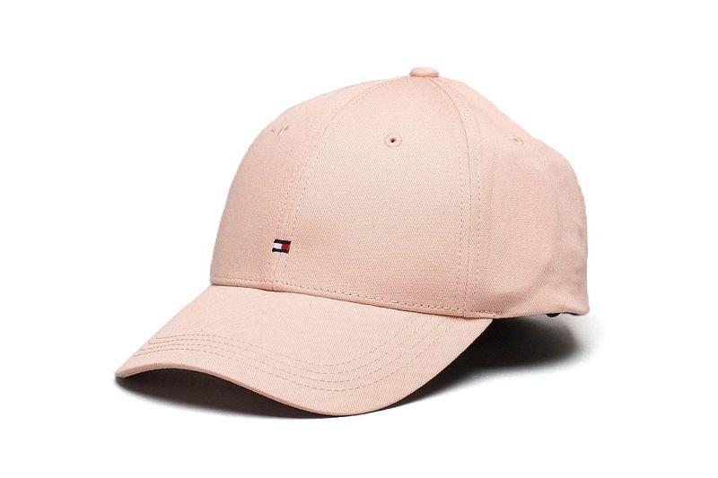 Minimal Pink Logo Caps