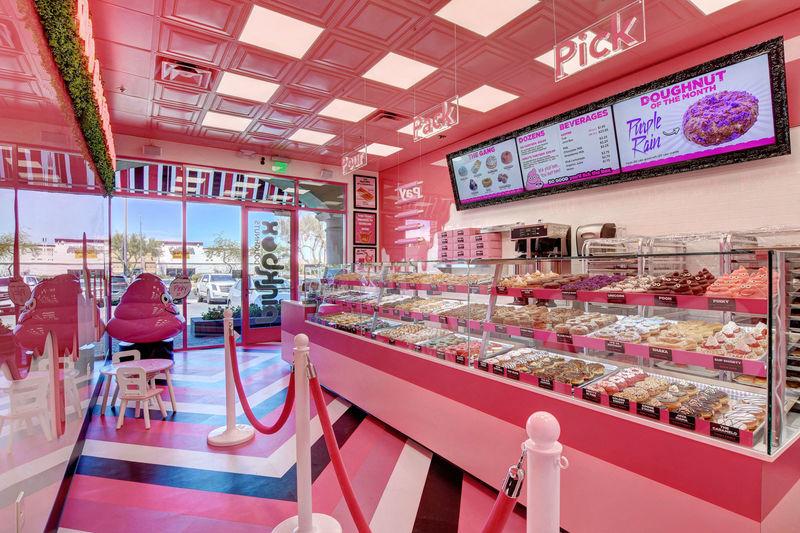 Whimsical Donut Shops : Pinkbox Doughnuts