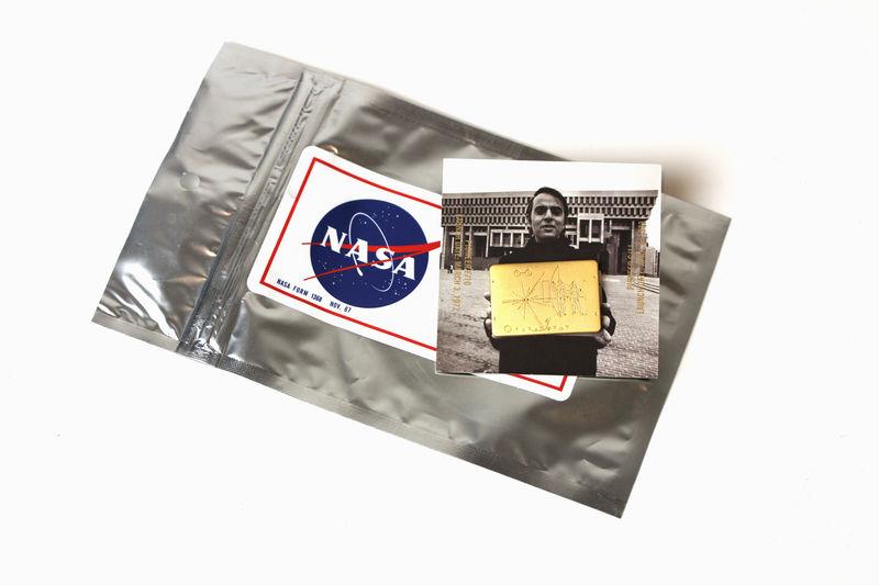 Spacecraft-Inspired Pins
