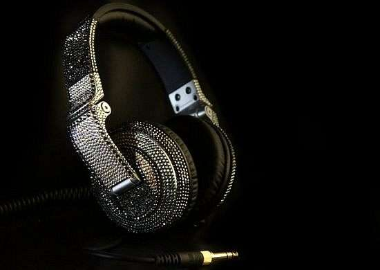 Blinged DJ Headphones