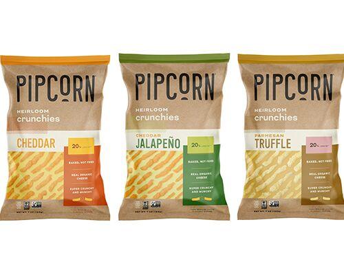 Cheesy Heirloom Corn Snacks