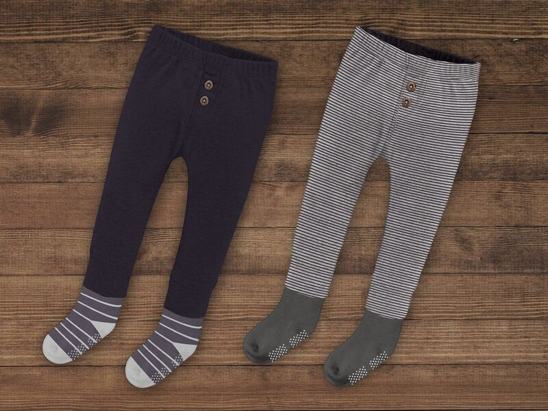 Sock-Attached Kids Clothes