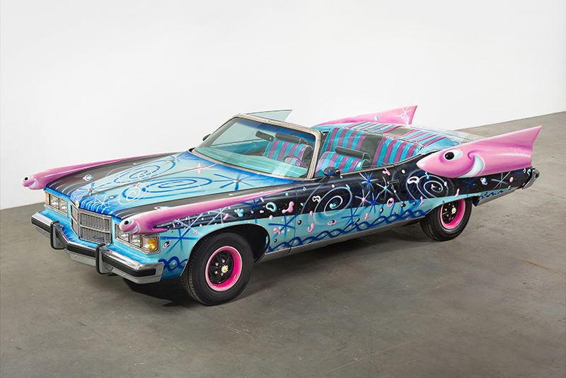 Artist-Engaged Automobiles