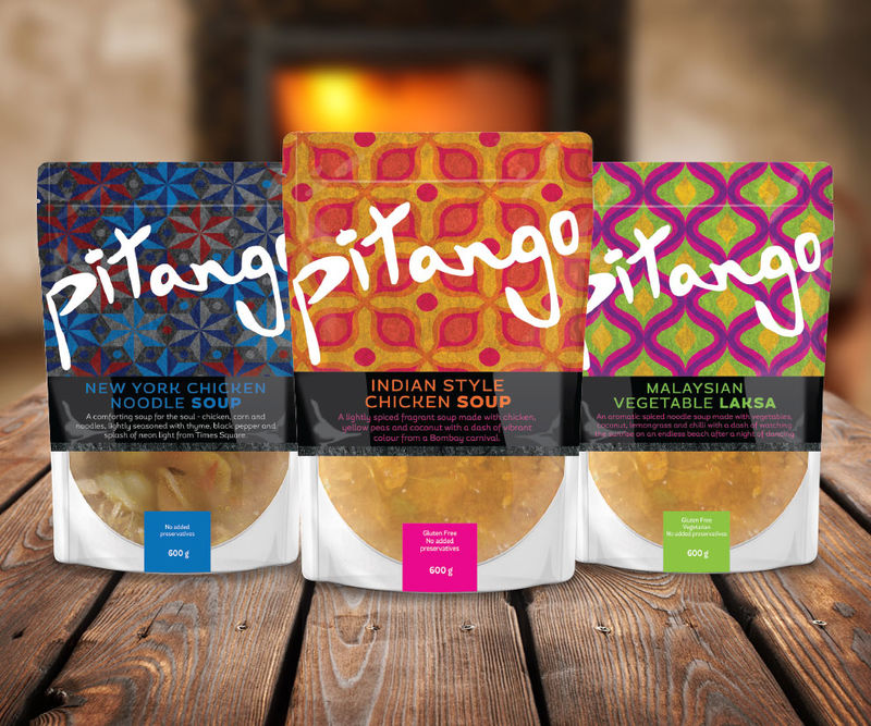 Graphic Soup Bag Branding