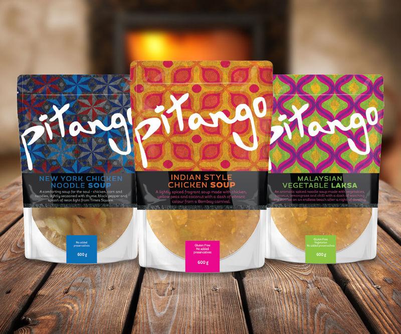 Graphic Soup Bag Branding