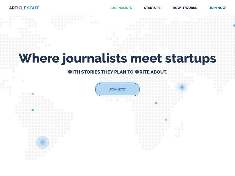 Startup Journalism Platforms