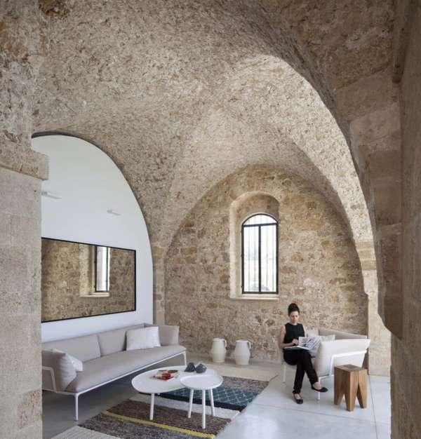 Stone-Clad Residences