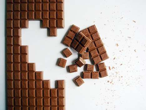 Pixel Block Chocolates