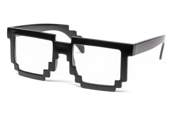 Vintage Pixelated Eyewear