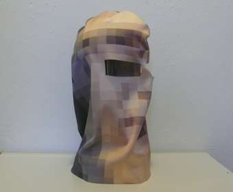 Pixelated Ski Masks
