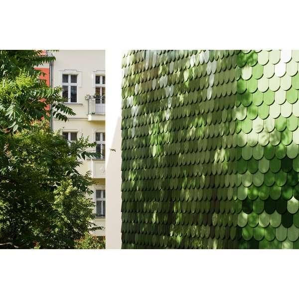 Pixelated Exterior Walls
