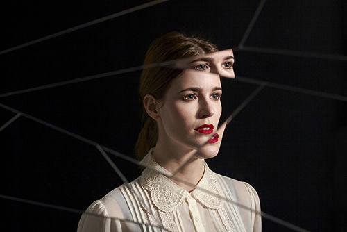 Glitchy Portrait Photography