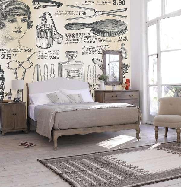 Great Gatsby-Inspired Murals