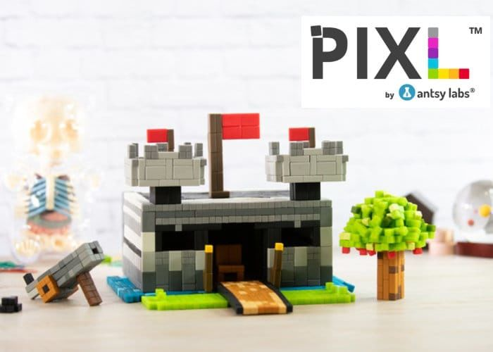 Pixelated Magnetic Building Blocks