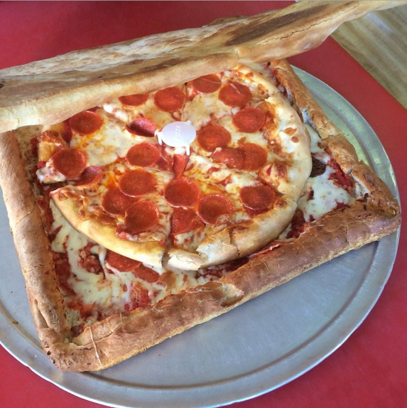 Edible Pizza Boxes