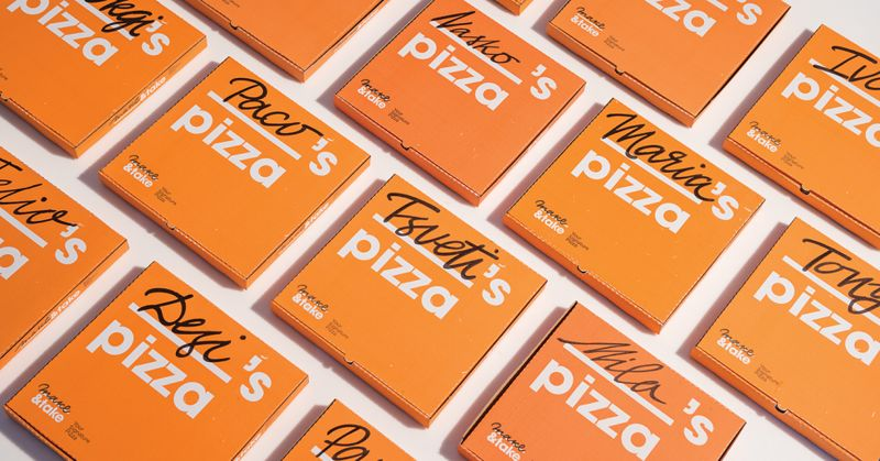 Personalized Pizza Branding