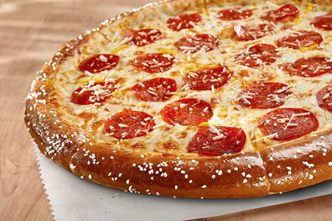 Pretzel Pizza Crusts