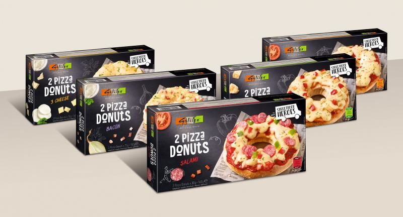Savory Pizza Bagels