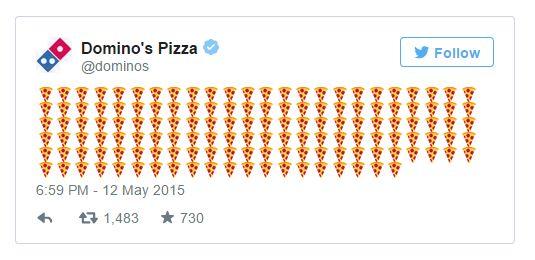 Pizza Emoji Deliveries