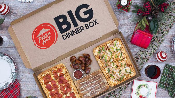 Festive Gathering Qsr Deals Pizza Hut Big Dinner Box