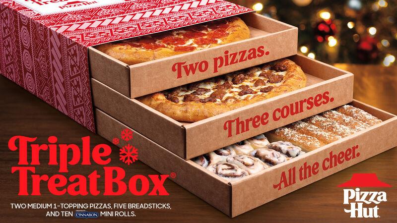 Three-Tier Pizza Boxes
